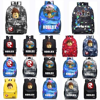 Roblox Backpack Kids School Bag Students Boys Bookbag Handbags Travelbag Game