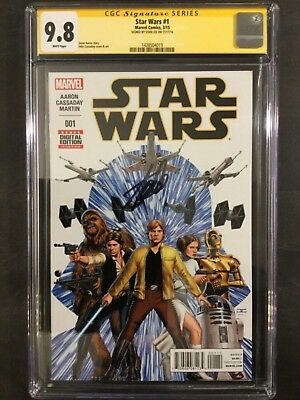 Stan Lee Cgc Ss 9.8 Signed Autograph Auto Star Wars #1 White Pages! 1 Of A Kind!