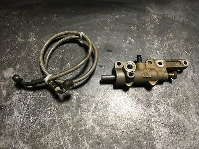2007 Arctic Cat 700 Rear Auxiliary Brake Rear Line Hose Master Cylinder