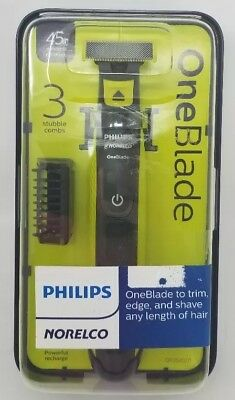 Philips Norelco OneBlade hybrid electric trimmer and shaver, QP2520/71 one blade