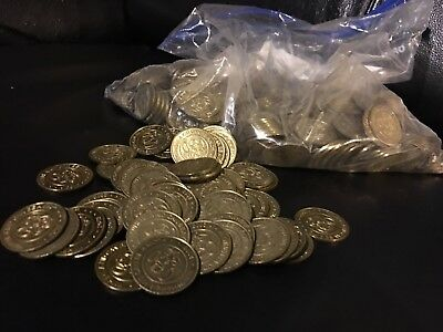 1. Lot Of 500 Chuck E Cheese Tokens