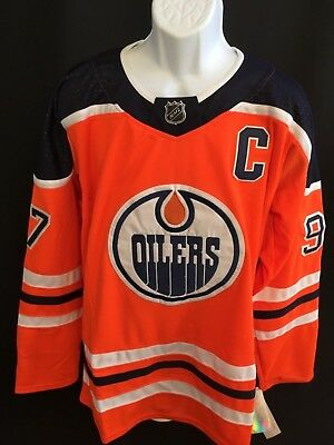 5c21a041e29 Connor McDavid  97 Edmonton Oilers NHL Hockey Jersey Size Extra Large