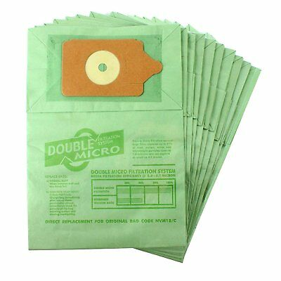 Numatic Henry Hetty Hoover Replacement Vacuum Cleaner Paper Dust Bags Pk of 10