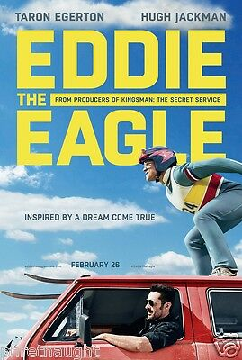 Eddie The Eagle Dvd Disc Only - Hugh Jackman - Taron Edgerton