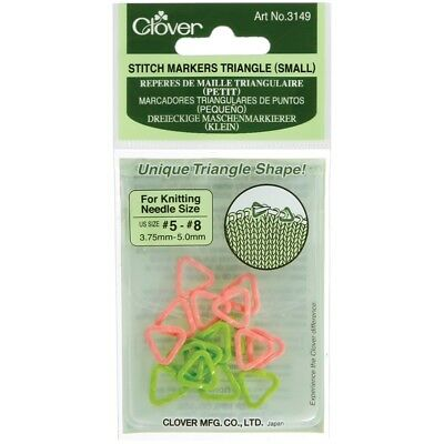 Triangle Stitch Markers-sizes 5 To 8 16/pkg