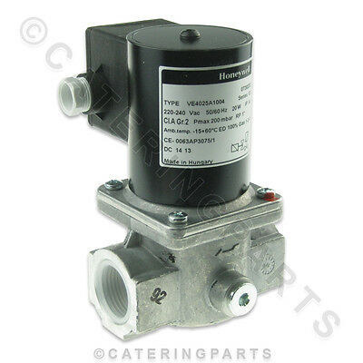 "Honeywell Gas Solenoid Valve 1"" Safety Interlock For Hopkins Fish And Chip Range"