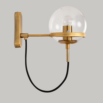 Modern Wall Lamp Kitchen Wall Light Fixtures Bedroom Wall Sconce Glass Lighting