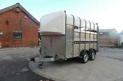 Used Ifor Williams TA510-12ft - 7ft head room Twin Axle - NO VAT