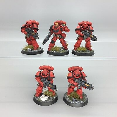 Warhammer 40,000 Space Marines Blood Angels Primaris Intercessors Kill Team
