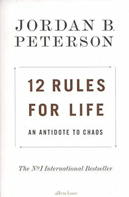 12 Rules for Life: An Antidote to Chaos,Jordan B. Peterson- 9780241351642