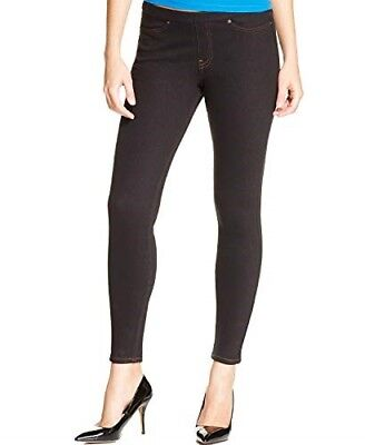36800ab9acf HUE Womens Original Denim Leggings Black Jeggings Size XXL -  44 - NWT