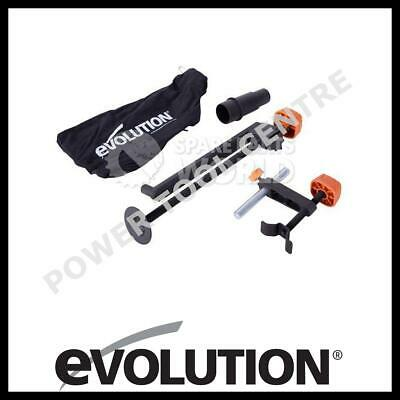 Evolution R210SMS & R210SMS+ Mitre Saw Accessory Pack Dust Bag Clamps Adapter