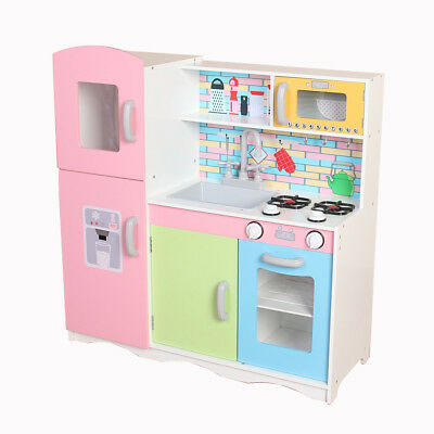 Kiddi Style Superior Little-Helper XLarge Childrens Kids Play Toy Wooden Kitchen