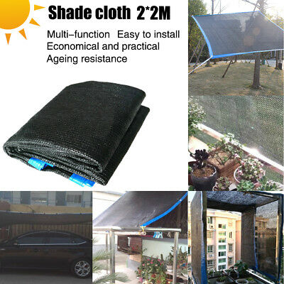 2*2M Thickened Balcony Wind Sun Shield Shade Patio Outdoo Privacy Protection Net