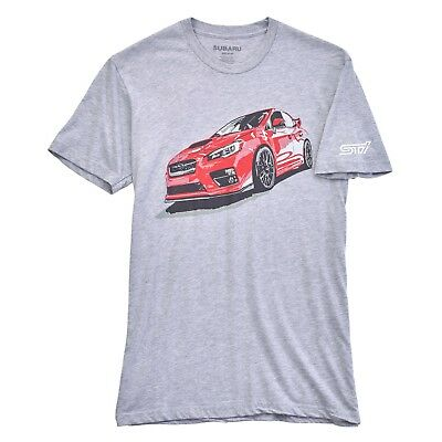 Subaru Official In Motion STI T-Shirt Tee T Shirt Impreza Sti WRX New Rally Usa