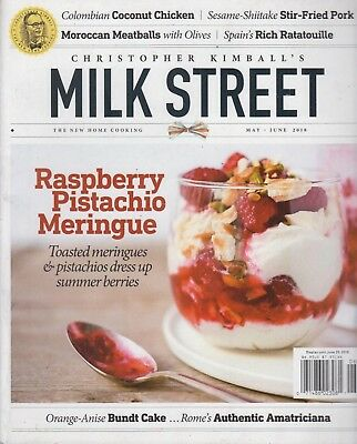 Christopher Kimball's Milk Street May/June 2018 The New Home Cooking Recipes