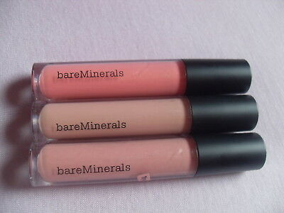 bare Minerals Gloss Brilliant 3 Stück Try me on