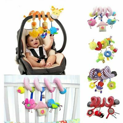 Baby Activity Spiral Toy for Cot Bed Car Seat Pushchair Pram Stroller Activity