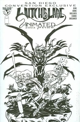 Witchblade Animated Preview San Diego Convention Exclusive (Image) #1 2003 FN
