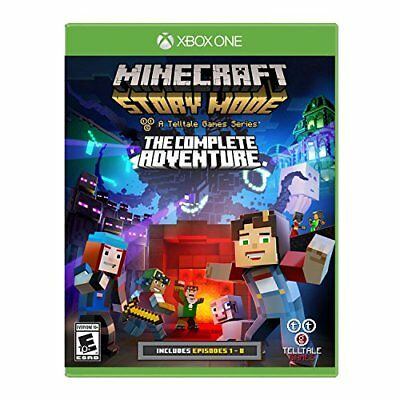 Minecraft Story Mode The Complete Adventure Xbox One Video Games For KIDS NEW
