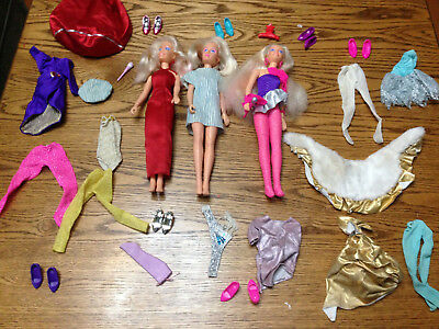 Jem And The Holograms Vintage Doll, Clothing And Accessories Lot - Over 30 Pcs