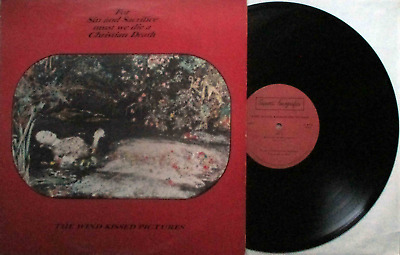 "Christian Death: The Wind Kissed Pictures (LP/12"" ITALY 1985 +8-Page-Booklet!)"