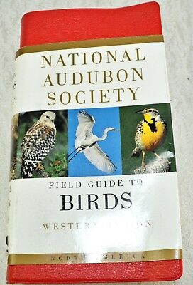 2000 National Audubon Society Field Guide to Birds Western US