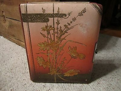Vintage Germany Photo Album Book W/Clasp!!!