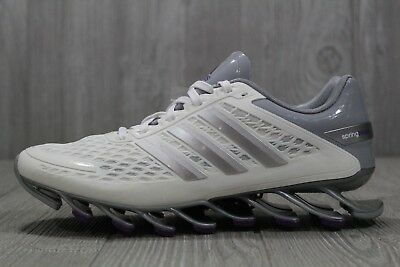 4e5deecbf744 35 Adidas Springblade Razor Womens M20199 White Grey Purple Shoes New 6 7.5  9.5