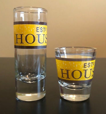 Houston Texas USA Collectible Shot Glass Small & Tall Set -- Free Shipping!