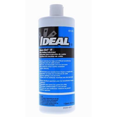Ideal Aqua-gel Wire pulling Lubricant Lube 0.95L Squeeze bottle