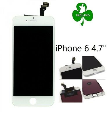 """For iPhone 6 4.7"""" LCD Touch Screen Digitizer Replacement Assembly White New"""