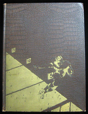 Intercollegiate Football 1869 - 1934 College Yearbook Scarce Leather First Ed HC