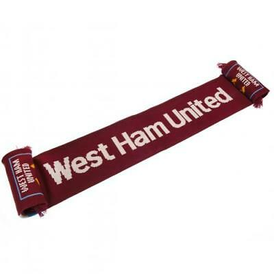 West Ham United F.C. Scarf SS Official Merchandise