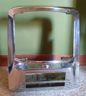 Vintage 1950's Seeburg 200 Wall-O-Matic Jukebox Chrome Cover Wallbox  No Guts!