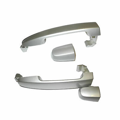 02-06 For Camry Lunar Mist Metallic 1C8 W/O Keyhole DS527 Outer Door Handle Rear