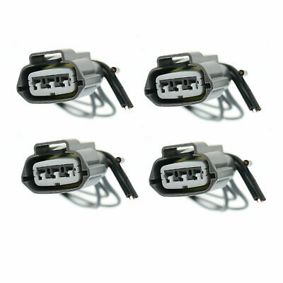 4PC IGNITION COIL CONNECTOR PIGTAIL UF259 FOR 90-96 Nissan Pulsar NX L4 CRC312