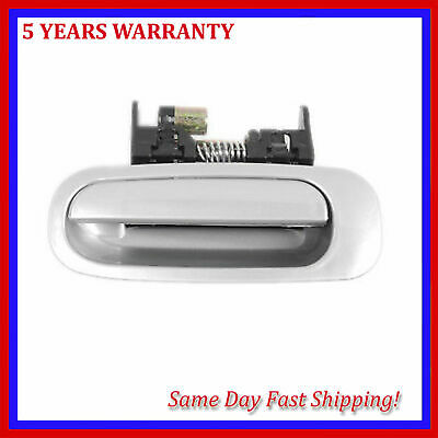 Exterior Outside Door Handle Rear Left For 1998-2002 Toyota Corolla Silver