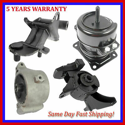 For 03-06 Acura MDX 3.5L Auto 4519 4533 4523 4532 Set Engine Motor /& Trans Mount