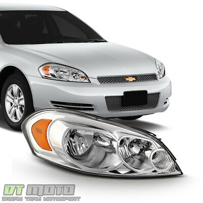 2006 2017 Chevy Impala Headlight Headlamp Replacement 06 13 Right Penger Side