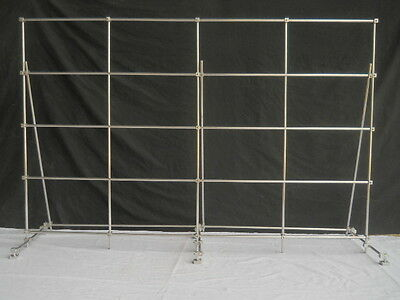 USED Lab Frame, 6 feet by 4 feet, 5 verticals + 5 horizontals