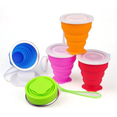 Outdoor Portable Telescopic Drinking Collapsible Folding Cup Travel Camping Cup