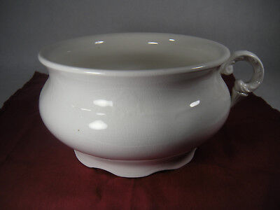 Vintage Edwin M. Knowles China Co. Chamber Pot Nice Handle