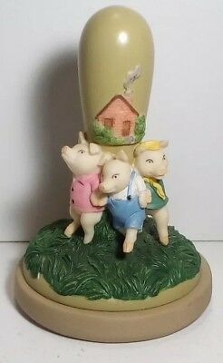 Brown Bag Cookie Stamp Three Little Pigs Collectible  1997 Retired