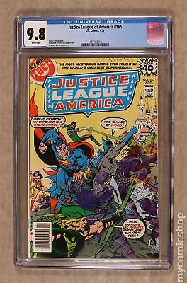 Justice League of America (1st Series) #165 1979 CGC 9.8 1497183016