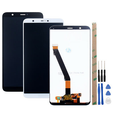 Vetro Display LCD Touch Screen + Frame Per Huawei P Smart Nero FIG-LX1 FIG-LX1