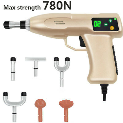 780N 6 Heads Electric Cervical vertebrae Chiropractic Instrument Correction Gun
