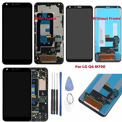 LCD Display + Touch Screen Digitizer Assembly & Frame Replacement For LG Q6 M700