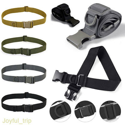 Men Tactical Belt Military Army Belt Training Belt Strap Outdoor Training Strap