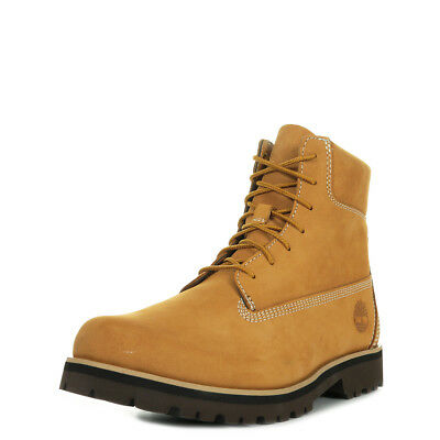 0a9900e6b CHAUSSURES BOOTS TIMBERLAND homme 6 Ptb Red taille Marron Cuir ...